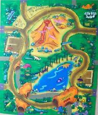 DINOSAUR Floor Play Mat Felt Game TOP SELLER Childrens Mat Themed Toy Preschool