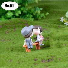 1Pc Home Decor Sweet Lover Couple Micro Figurines Crafts Fairy Garden Miniatures