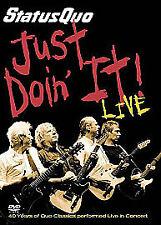 Status Quo - Just Doin' It (DVD, 2006, 2-Disc Set)
