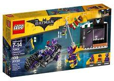 LEGO THE BATMAN MOVIE CATWOMAN CATCYCLE CHASE SET 70902 139 PCS 3 FIGURES