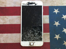 Apple iPhone 6s Plus A1687 Cracked Screen NO POWER SOLD AS IS FOR PARTS