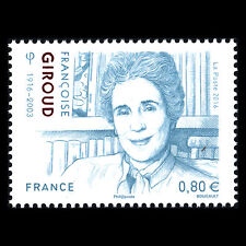 France 2016 - 100th Birth of Francoise Giroud Writer and Politician - MNH