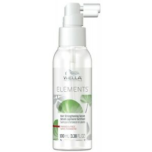Wella Elements hair strengthening serum 3.38 oz / 100 ml paraben-free add volume