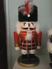 New ListingBombay Christmas Wooden Nutcracker Scottish Fur Black Hat
