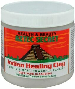 Aztec Secret Indian Healing Clay 100% Natural Calcium Bentonite Clay 1lb or 2lb