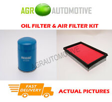 PETROL SERVICE KIT OIL AIR FILTER FOR NISSAN TERRANO II 2.4 118 BHP 1996-05