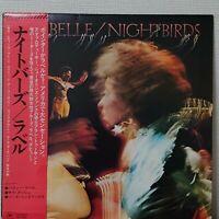 LABELLE NIGHTBIRDS EPIC ECPO-9 Japan OBI VINYL LP