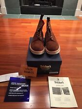 Junya Watanabe Man x Tricker's Snuff Repello Toe Cap Brogue Boots US 10