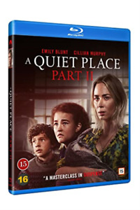 A quiet place 2 [danish import] new blu-ray