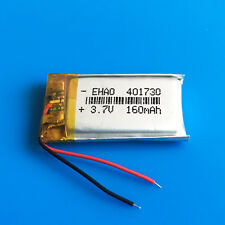 3.7V 160mAh Li Po Battery 401730 for MP3 MP4 Headphone Video pen GPS Bluetooth