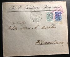 1915 Kaipiainen Finland Russia Occupation Commercial Censored Cover