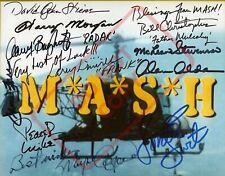 8.5x11 Autographed Signed Reprint RP Photo Mash - Cast Alan Alda Jamie Farr