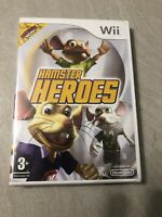 NEUF NEW hamster heroes nintendo WII sealed blister