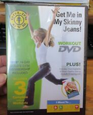 Golds Gym Workout DVD Get Me In My Skinny Jeans NEW