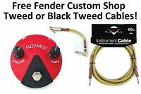 New Dunlop FFM2 Ge Fuzz Face Mini Germanium Guitar Distortion Effects Pedal