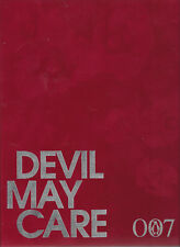 SIGNED SEBASTIAN FAULKS - DEVIL MAY CARE UK S&N #210/500 IAN FLEMING JAMES BOND