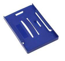 Rigid Blue Multi ID Badge Holder. Takes 5 Cards. Use Both Horizontal & Vertical