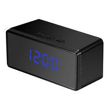 HD 1080P Spy Alarm Clock IR Night security Hidden Camera DVR Motion Detection DV