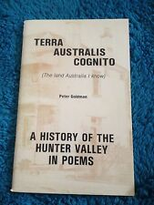 PETER GOLDMAN, TERRA AUSTRALIS COGNITO. HUNTER VALLEY NSW. 0959037004