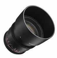 Rokinon Cine DS 85mm T1.5 AS IF UMC Full Frame Cine Lens for Sony E-Mount