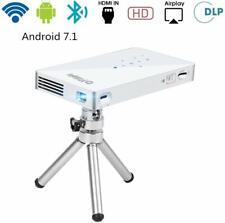 PTVDISPLAY Pico Pocket Mini Projector PTV-P8I SILVER Tracking number NEW
