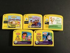 Leap Frog My First Leap Pad Preschool Cartridges Lot 5 Yellow cartridges *only*