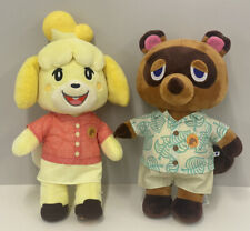 Build A Bear - Animal Crossings - Isabelle & Tom Nook - NWOT - No Sound