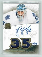 10-11 UD The Cup Honorable Numbers  Jean-Sebastien Giguere  /35  Auto  Patches