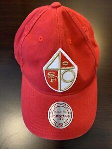 Men's Mitchell & Ness San Francisco 49ers Vintage Adjustable Snapback Hat NWT