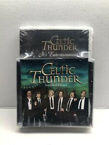 Celtic Thunder: Its Entertainment (Ireland) DVD, CD, Feb-2010) Ireland Call -NEW