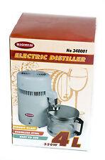 Electric distiller 4L 350W air (water still distillation kit destillateur vodka)