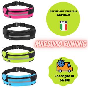 🏃♂️ marsupio corsa running sportivo bicicletta portacellulare impermeabile 🏃