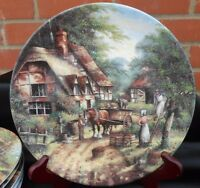 Wedgwood Bone China Plate The Apple Pickers Country Days By Chris Howells