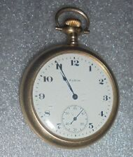 fine antique Elgin Yellow Gold Filled 15J  pocket watch