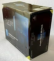 Sony PlayStation 2 PS2 Console Midnight Blue SCPH-50000MB/NH BB PACK W/BOX FedEx