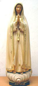 Mutter Gottes v. Fatima, Fatima Madonna, Holz, NEU