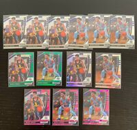 Lot of 13 2020-21 Prizm Draft Markus Howard Rookie Cards - Pink Ice, Green, Silv