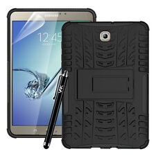 Samsung Galaxy Tablet Heavy Duty Shock Proof Hard Protective Case Cover Stand