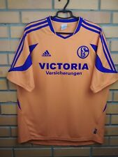 Fc Schalke 04 jersey Large 2005 2006 away shirt soccer football Adidas