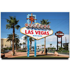 Welcome to Fabulous Las Vegas fridge magnet Nevada travel souvenir
