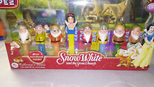 Snow White And The Seven Dwarfs Pez dispensers With Story Book