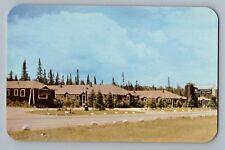 Houghton Lake Michigan MI Motor Court Johnson's Rustic Resort Postcard 1950s
