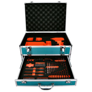 Aluminium Case for Impact Driver, Charger and Batteries and Accessories