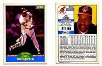 Joe Carter Signed 1989 Score #213 Card Cleveland Indians Auto Autograph