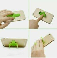 Universal Mobile Phone Holder Zip Klick Finger Grip Ring Stand Tablet EU Quality