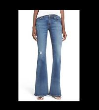 "HUDSON ""Mia"" distressed flare jeans, W26 UK 8, Net-a-porter, £200"
