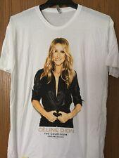 Celine Dion - The Colosseum - Las Vegas.  Shirt.   White.   XL