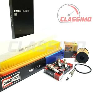 Complete Filter & Spark Plug Service Kit for MINI COOPER S - R55 R56 R57 2007-14
