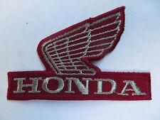 Vintage 60's / 70's Honda Motorcycle Patch! Jacket / Vest / Crafts Mint! Unused!