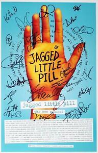 Cast Lauren Patten, Elizabeth Stanley Signed JAGGED LITTLE PILL 2020 Poster